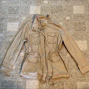 Old Navy Khaki Cargo Jacket